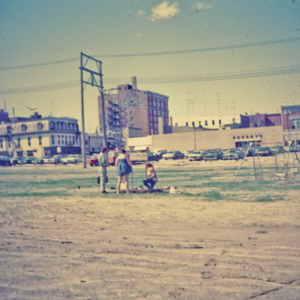 Playground Near Central Business District, 1970-1976