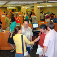 Library Building Grand Opening, 2004