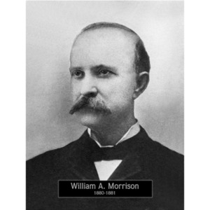 1880-1881: Mayor William Morrison