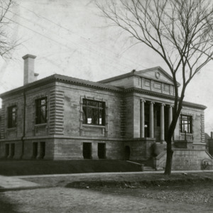 Carnegie Library Exterior, 1963