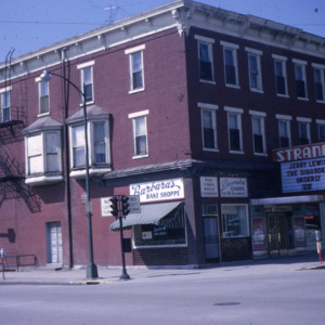 East College and South Dubuque Streets, 1965