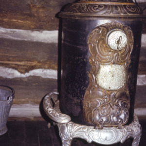Wood-burning Stove, City Park, 1970-1976