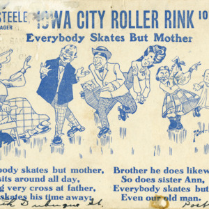 Iowa City Roller Rink, Iowa City, Iowa