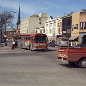 Corner of South Clinton and Washington Streets, 1977