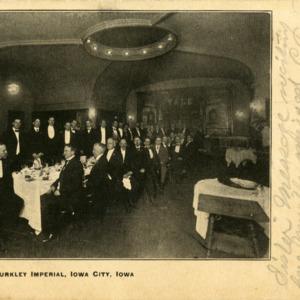 Taft Banquet, Burkley Imperial, Iowa City, Iowa