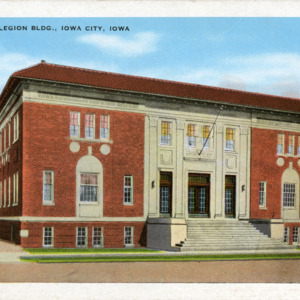 American Legion Building, Iowa City, Iowa