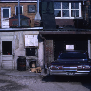 Unidentified alley, 1965