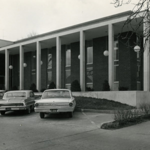 East Side of Carnegie Library, 1963