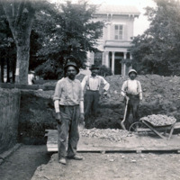 Building Workers 1, Iowa City Public Library, 1904