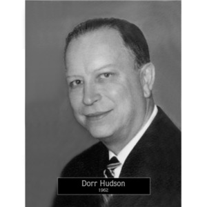 1962: Mayor Dorr Hudson