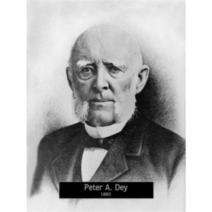 1860: Mayor Peter Dey