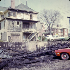 Rubble after a Fire, 1970-1976