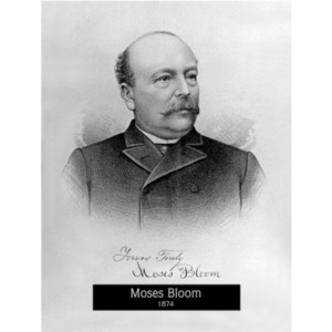 1874: Mayor Moses Bloom