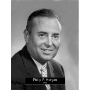 1959: Mayor Philip Morgan