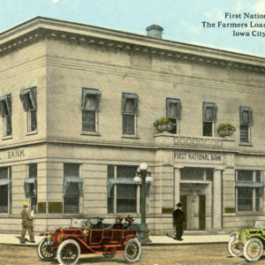 First National Bank, The Farmers Loan and Trust Co., Iowa City, Iowa