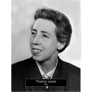 1961: Mayor Thelma Lewis