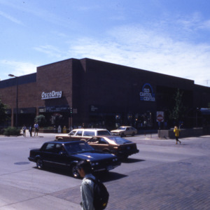 Old Capitol Mall, East Washington and South Clinton Streets, 1980s