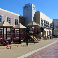 South Side of Finished Library Building, 2005