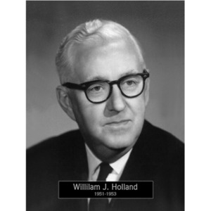 1951-1953: Mayor William Holland