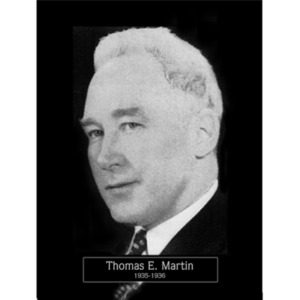 1935: Mayor Thomas Martin