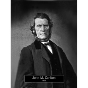 1856: Mayor John Carlton