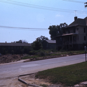 East Court Street, 300-Block, during Urban Renewal, 1972