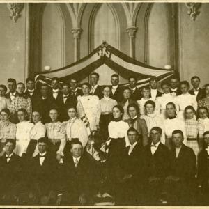 8th Grade Graduation, 1898