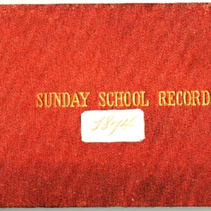 1874 Sunday School Records