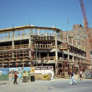Plaza Centre One Construction, 1975
