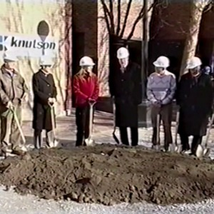 Iowa City Public Library 2002 Groundbreaking