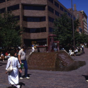 Plaza Centre One and Fountain, 1980s