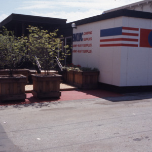 Bivouac Store during Urban Renewal, 1973