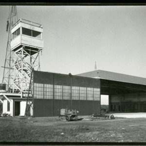 Iowa City Airport hangar, 1930