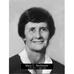 1976, 1982: Mayor Mary Neuhauser