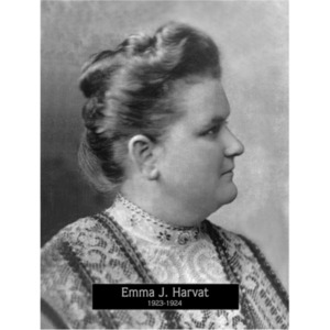 1922: Mayor Emma Harvat