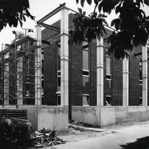 Carnegie Library Expansion, 1963
