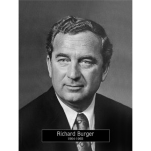 1964: Mayor Richard Burger