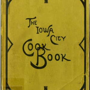 The Iowa City Cook Book, 1898