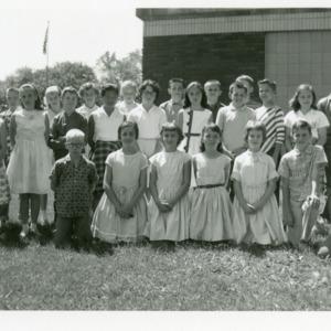 Coralville School 5th Grade Class, 1961-1962