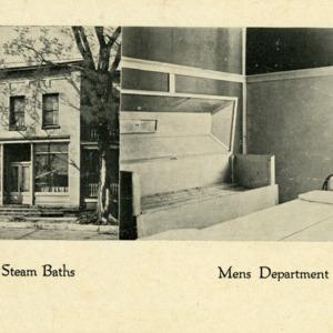 Sulfur Steam Baths, Mens Department