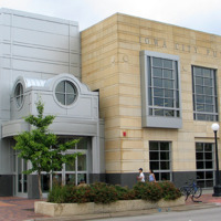 East and South Side of Finished Library Building, 2005