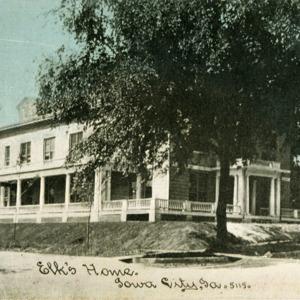 Elk's House, Iowa City, Iowa