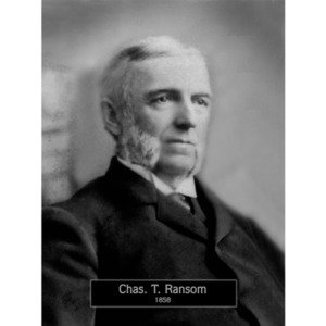 1858: Mayor Charles Ransom