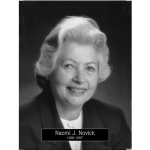 1996: Mayor Naomi Novick