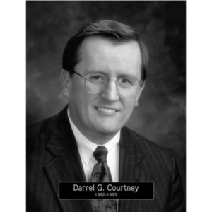 1992: Mayor Darrell Courtney
