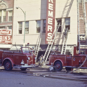Bremers Fire, 1963