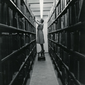 Librarian, Carnegie Library, 1965