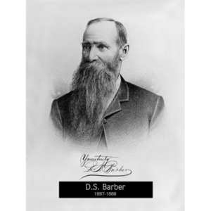 1887: Mayor D.S. Barber