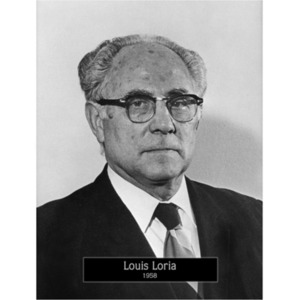 1958: Mayor Louis Loria