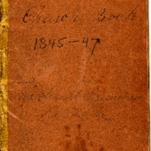 1847 Rev. Michael Hummer's Church Book, 1845-1847